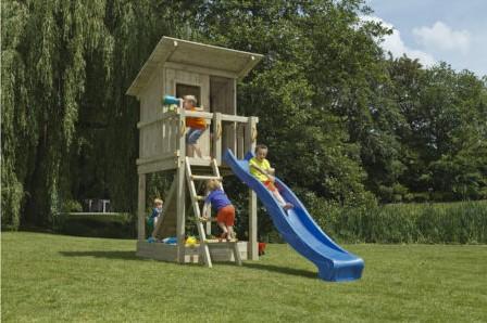 Douglas speeltoestel Beach Hut - 120 cm - Blauw