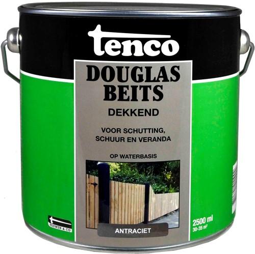 TENCO DOUGLASBEITS DEKKEND ANTRACIET 2,5 L.