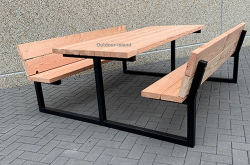 Picknicktafel model F
