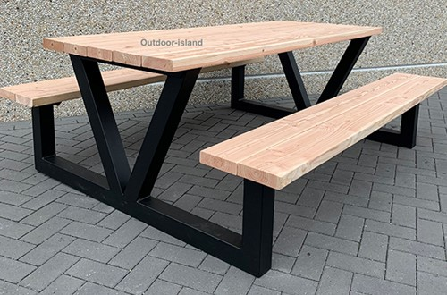 Picknicktafel model V
