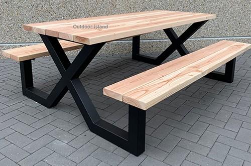 Picknicktafel model X