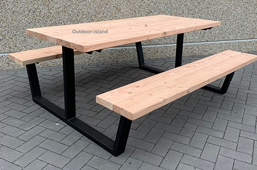 Picknicktafel model U